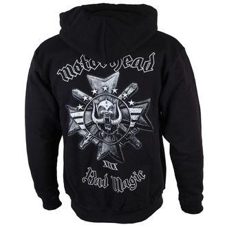 sweat-shirt avec capuche pour hommes Motörhead - Bad Magic - ROCK OFF, ROCK OFF, Motörhead