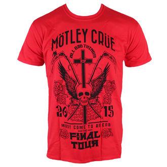tee-shirt métal pour hommes Mötley Crüe - Final Tour Tattoo - ROCK OFF, ROCK OFF, Mötley Crüe