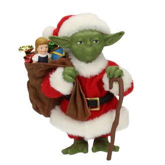 figurine Étoile Wars - Yoda Santa Claus, NNM