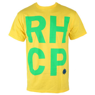 tee-shirt métal pour hommes Red Hot Chili Peppers - Brazil Colors - BRAVADO, BRAVADO, Red Hot Chili Peppers