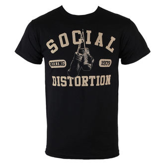 tee-shirt métal pour hommes Social Distortion - Boxing Gloves - BRAVADO, BRAVADO, Social Distortion