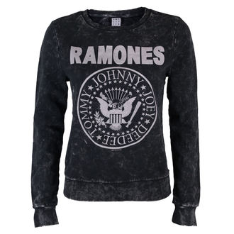 sweat-shirt sans capuche pour femmes Ramones - Macrame Sweat - AMPLIFIED, AMPLIFIED, Ramones