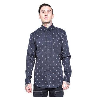 chemise pour hommes IRON FIST - GFY - Noire, IRON FIST