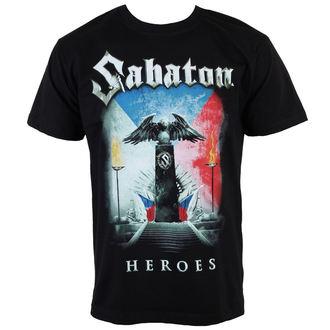 tee-shirt métal pour hommes Sabaton - Heroes Czech Republic - CARTON - K_675