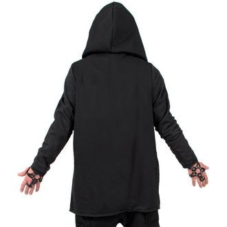 sweat-shirt avec capuche pour femmes unisexe - Black - AMENOMEN