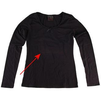 tee-shirt pour femmes avec longue manche QUEEN OF DARKNESS - ENDOMMAGÉ, QUEEN OF DARKNESS