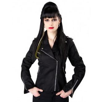 veste pour femmes NOIRE PISTOLET - Biker - Noire, BLACK PISTOL