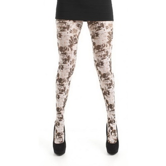 collants PAMELA MANN - Comic Grunge Printed - Multi, PAMELA MANN