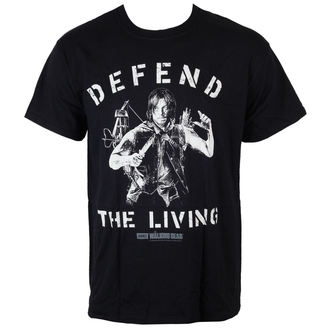 t-shirt de film pour hommes The Walking Dead - Daryl Defend The Living - INDIEGO, INDIEGO