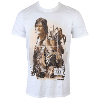 t-shirt de film pour hommes The Walking Dead - Daryl Montage - INDIEGO, INDIEGO