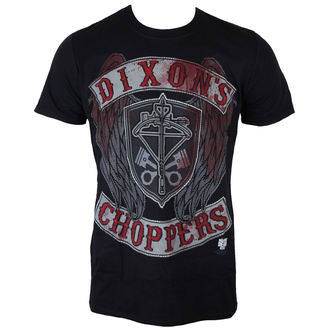 t-shirt de film pour hommes The Walking Dead - Dixons Choppers - INDIEGO, INDIEGO