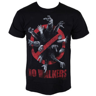 t-shirt de film pour hommes The Walking Dead - No Walkers - INDIEGO, INDIEGO