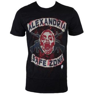 t-shirt de film pour hommes The Walking Dead - Safe Zone - INDIEGO, INDIEGO