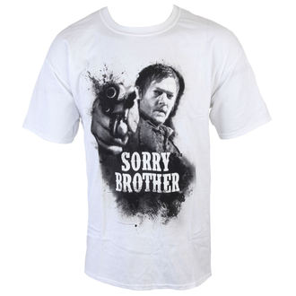 t-shirt de film pour hommes The Walking Dead - Sorry Brother - INDIEGO, INDIEGO