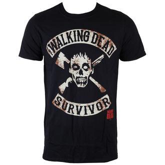 t-shirt de film pour hommes The Walking Dead - Survivor - INDIEGO, INDIEGO