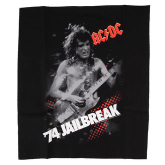 applique AC / DC - Jailbreak - BLK - LOW FREQUENCY, LOW FREQUENCY, AC-DC