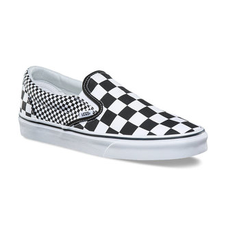 chaussures de tennis basses unisexe - UA CLASSIC SLIP-ON (MIX CHECKER) - VANS, VANS