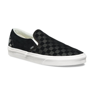 chaussures de tennis basses unisexe - UA CLASSIC SLIP-ON (CHECKER EM) - VANS, VANS