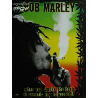 drapeau Bob Marley - Herb, HEART ROCK, Bob Marley