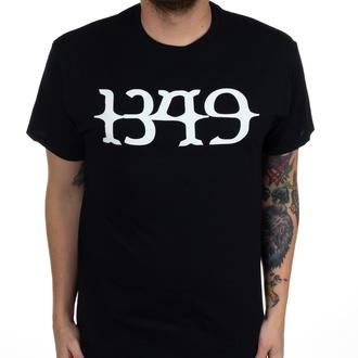 T-shirt 1349 pour hommes - White Logo - Noir - INDIEMERCH, INDIEMERCH, 1349