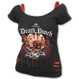 tee-shirt métal pour femmes Five Finger Death Punch - Five Finger Death Punch - SPIRAL, SPIRAL, Five Finger Death Punch