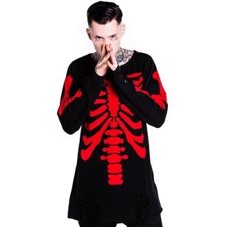 pull (unisexe) KILLSTAR - Skeletor - Rouge, KILLSTAR
