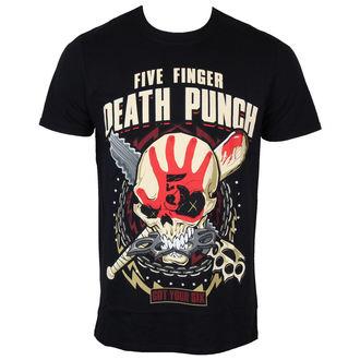 tee-shirt métal pour hommes Five Finger Death Punch - Zombie Kill - ROCK OFF, ROCK OFF, Five Finger Death Punch