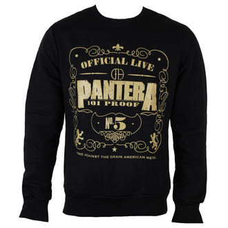 sweat-shirt sans capuche pour hommes Pantera - 101 Proof - ROCK OFF, ROCK OFF, Pantera