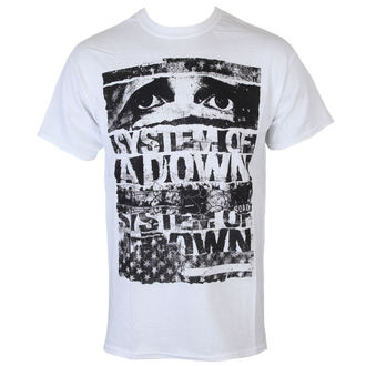 tee-shirt métal pour hommes System of a Down - Torn - ROCK OFF, ROCK OFF, System of a Down
