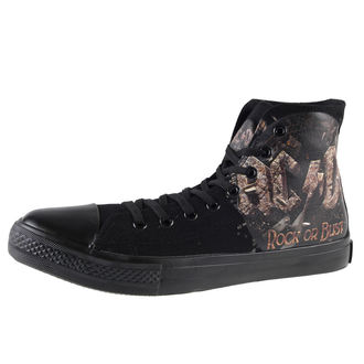 chaussures de tennis montantes pour femmes AC-DC - Rock Or Bust - F.B.I., F.B.I., AC-DC