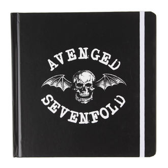 Bloc-notes  Avenged Sevenfold - Classic Deathbat - ROCK OFF, ROCK OFF, Avenged Sevenfold