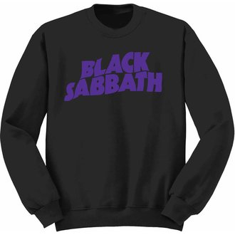 sweat-shirt sans capuche enfants Black Sabbath - Wavy Logo - ROCK OFF