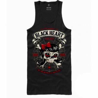 Débardeur pour femmes BLACK HEART - LADY LUCK - NOIR, BLACK HEART