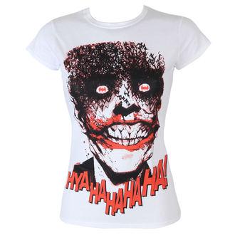 tee-shirt pour femmes Batman - The Joker-HyaHaHaHa - Blanc - HYBRIS, HYBRIS, Batman