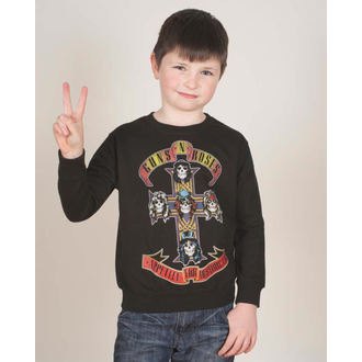 sweat-shirt sans capuche enfants Guns N' Roses - Appetite For Destruction - ROCK OFF