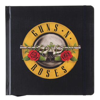 de notes carnet Guns N' Roses - Classic Logo - ROCK OFF, ROCK OFF, Guns N' Roses