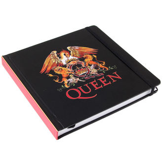 de notes carnet Queen - Logo - ROCK OFF, ROCK OFF, Queen