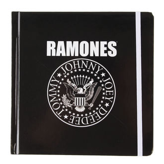 de notes carnet Ramones - Présidentiel Seal - ROCK OFF, ROCK OFF, Ramones