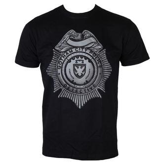 t-shirt de film pour hommes Gotham - Detective Shield - HYBRIS, HYBRIS, Gotham