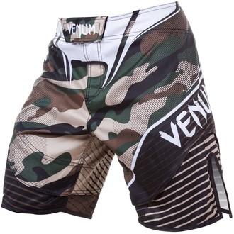 boxeur short pour hommes VENUM - Camo Hero - Vert / Brown, VENUM