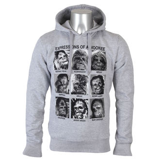 sweat-shirt avec capuche pour hommes Star Wars - Expression Of a Wookie - LEGEND - MESWCHESW003