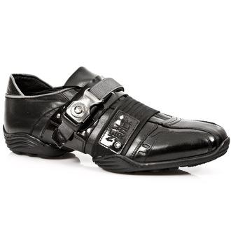 bottes en cuir pour femmes - CHAROL STUCO ACERO - NEW ROCK, NEW ROCK
