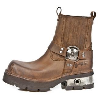 bottes en cuir pour femmes - VENTURE AVIADOR - NEW ROCK, NEW ROCK