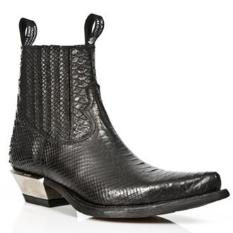 bottes en cuir pour femmes - PITON NEGRO WEST - NEW ROCK, NEW ROCK