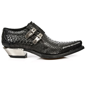 bottes en cuir pour femmes - PITON NEGRO - NEW ROCK, NEW ROCK