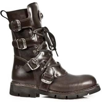 bottes en cuir pour femmes - PLANING MARRON SIN - NEW ROCK, NEW ROCK
