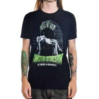 tee-shirt gothic et punk pour hommes - Monster Sideshow - TOO FAST - MTS-T-MSHOW