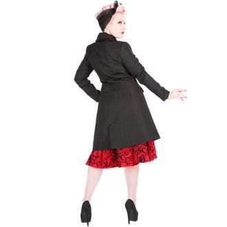 manteau pour femmes printemps / automne HEARTS AND ROSES - Brocade Military - Noire - 9189