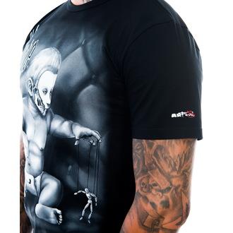 tee-shirt pour hommes ART BY EVIL - Alone - Noire, ART BY EVIL