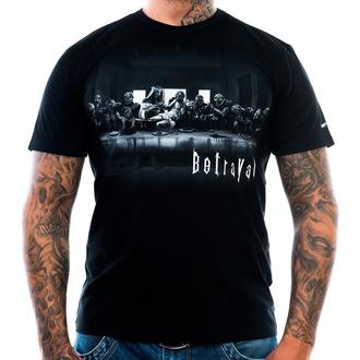 tee-shirt pour hommes ART BY EVIL - trahison - Noire, ART BY EVIL